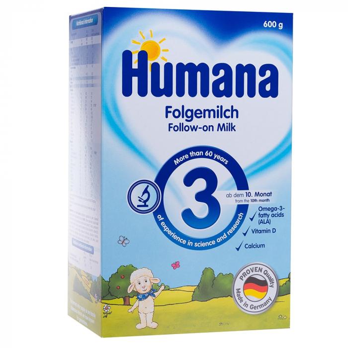 Humana 3, 600gr - Lapte de continuare de la 10 luni [0]