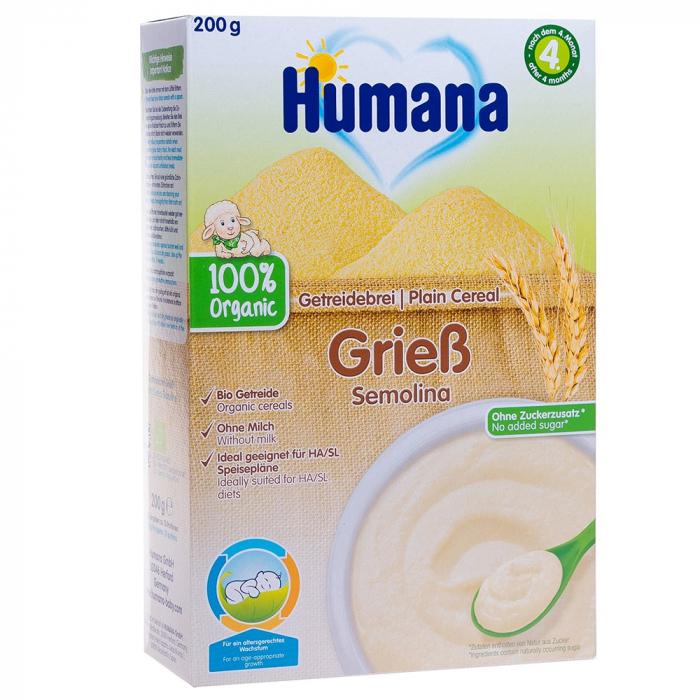 Humana eco cereale gris fara lapte, 200 g [0]