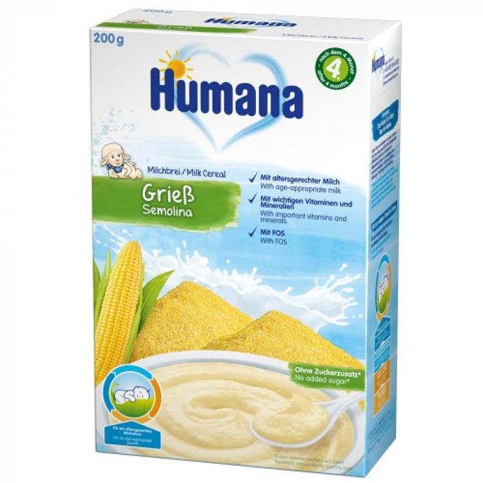 Humana gris cu lapte, 200g [0]