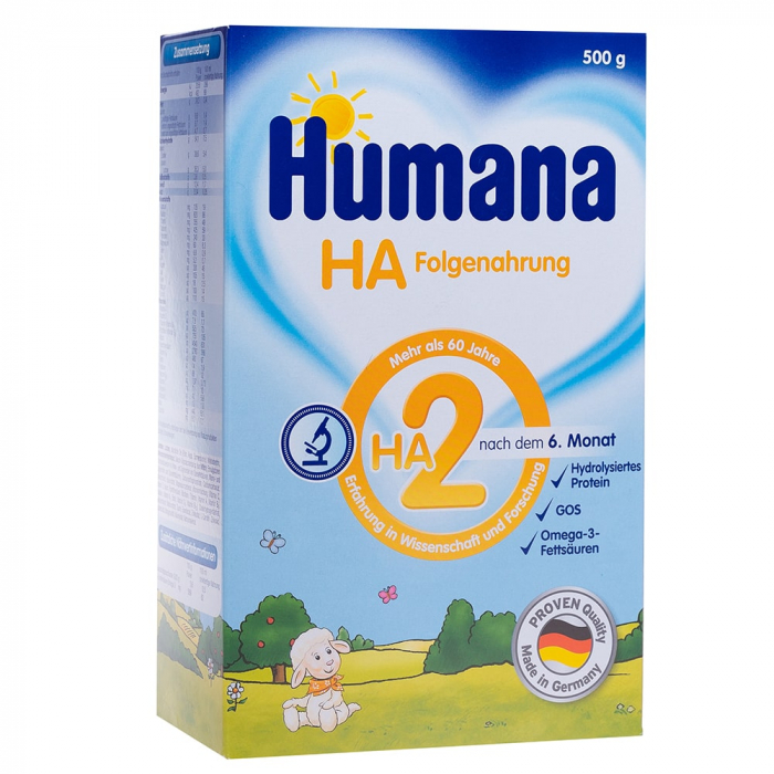 Humana HA 2, 500g, Lapte Praf de la 6 luni [0]
