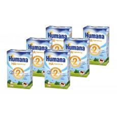 Pachet 6 x Humana HA 2, 500g, lapte praf de la 6 luni [0]
