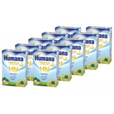 Pachet 10 x Humana HN gust banane 300g, pentru sugari, copii, adulti 0