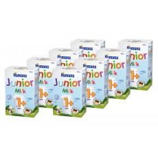 Pachet 8 x Humana junior milk 1+ ,(Formula de lapte de crestere) 600g 0