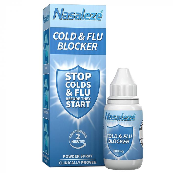 Nasaleze Cold & Flu Blocker - Blocant al răcelii și gripei [2]