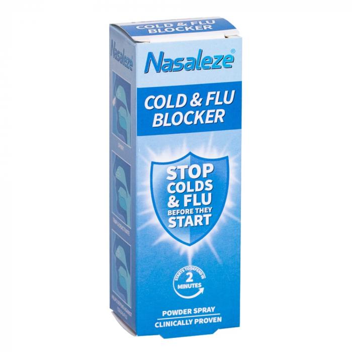 Nasaleze Cold & Flu Blocker - Blocant al răcelii și gripei [0]