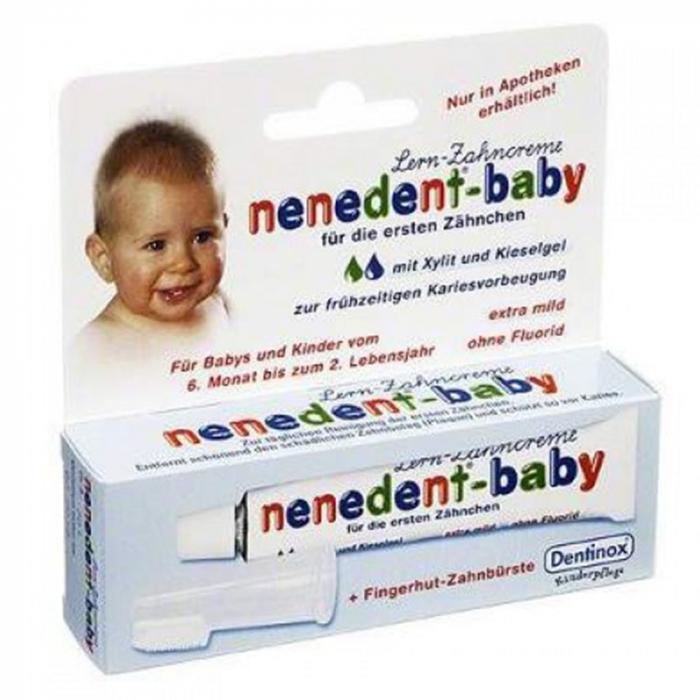 Nenedent Pasta de dinti pentru bebelus x 20ml [0]