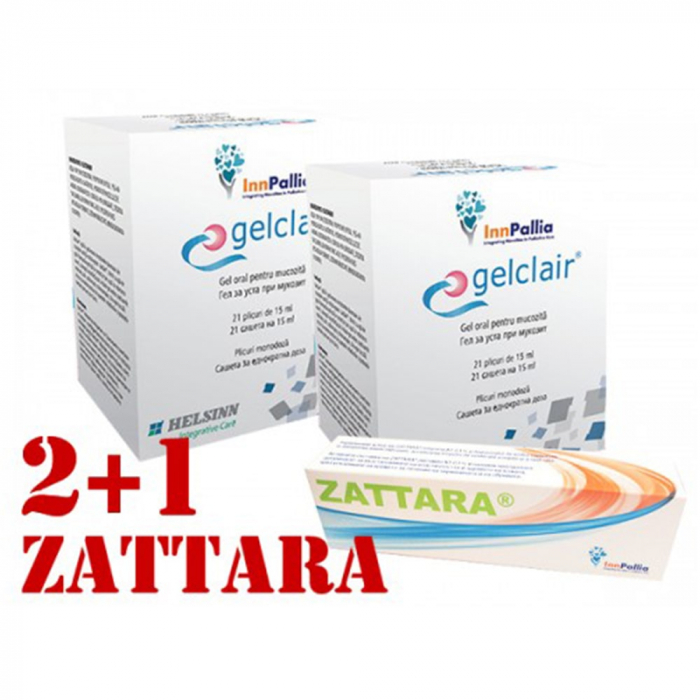 Pachet Gelclair 2+1 Zattara [0]