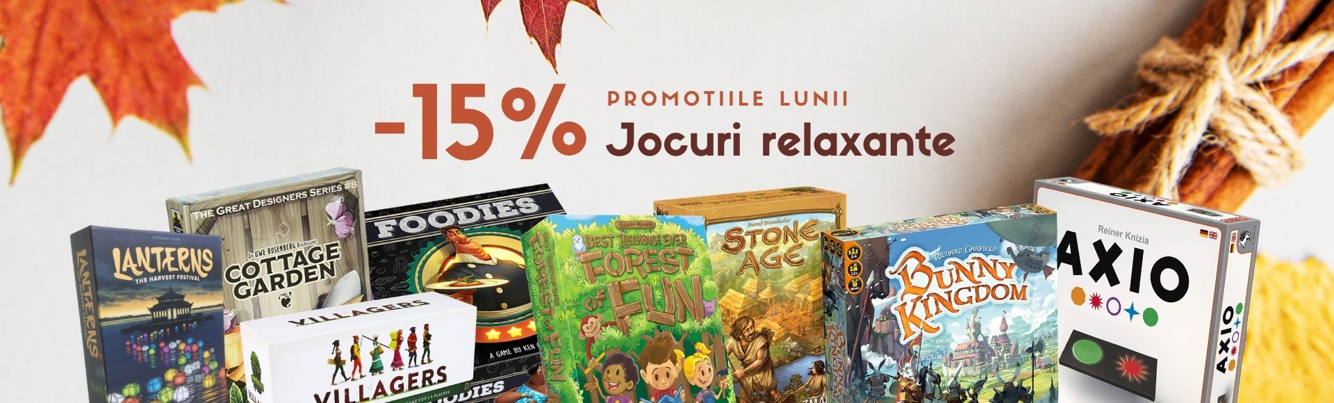 Jocuri relaxante -15%