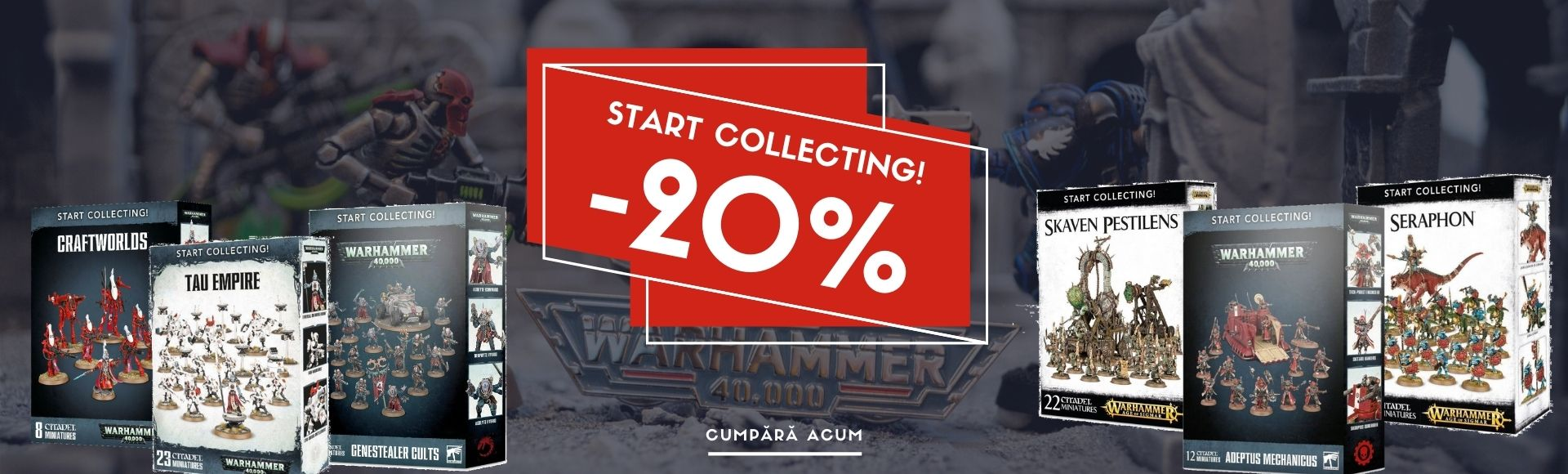 [40] Start collecting! 20% off promo