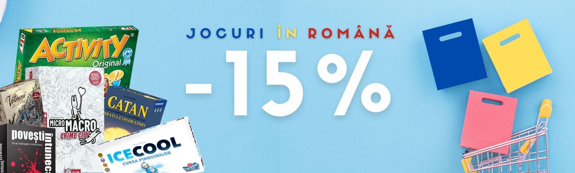 Jocuri in romana -15%