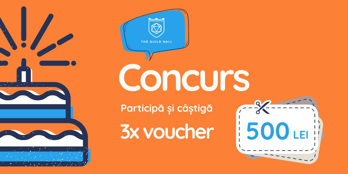 Participa la concurs si castiga 3x voucher de 500 lei