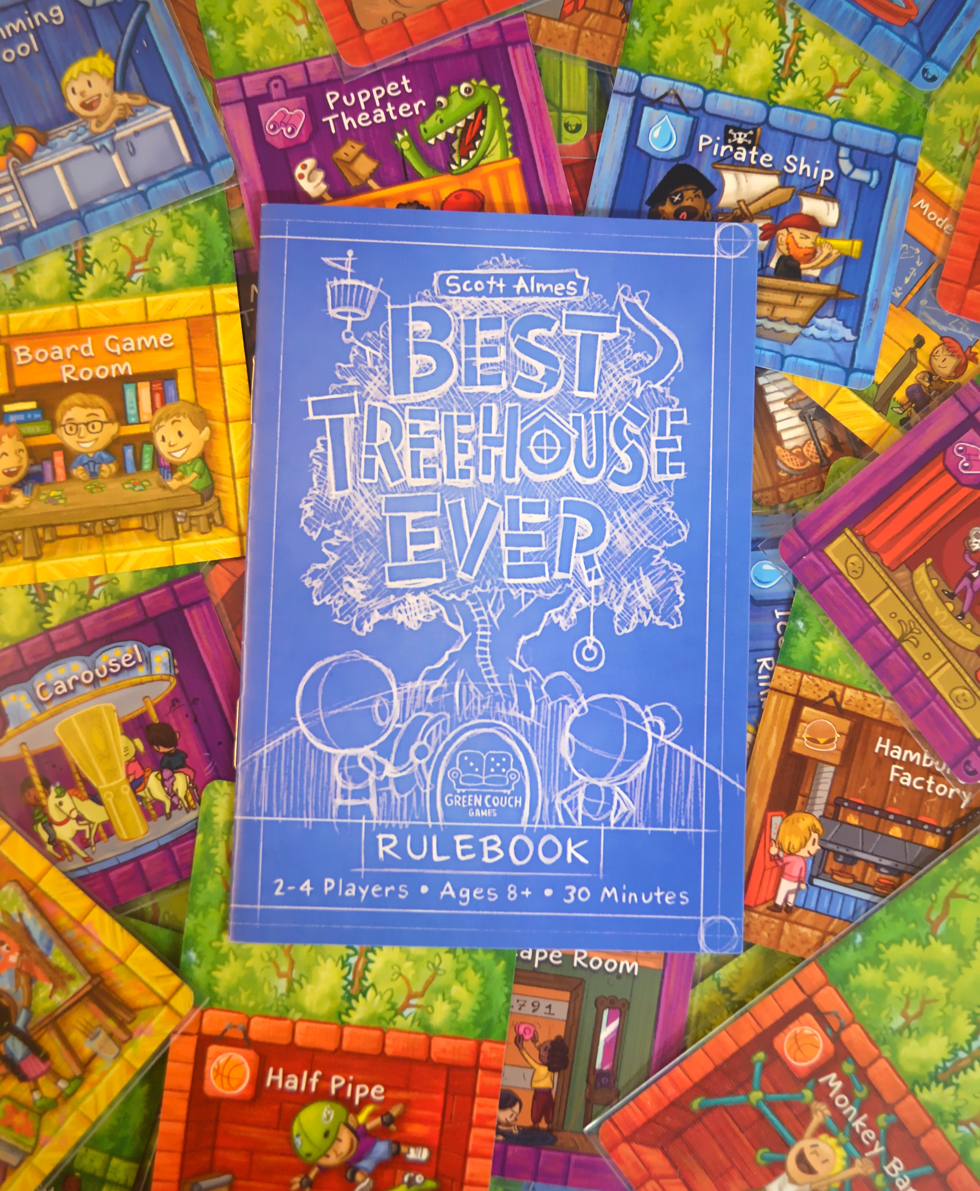 best treehouse ever forest of fun board game