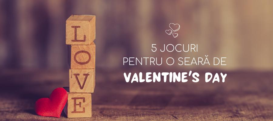 5 jocuri pentru o seară de Valentine's Day