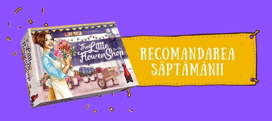 Recomandarea săptămânii: The Little Flower Shop