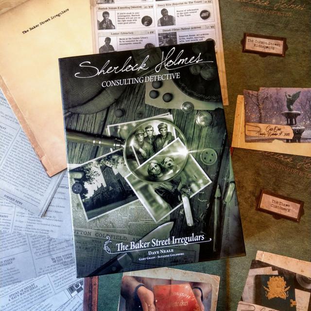 Sherlock Holmes Consulting Detective Baker Street Irregulars