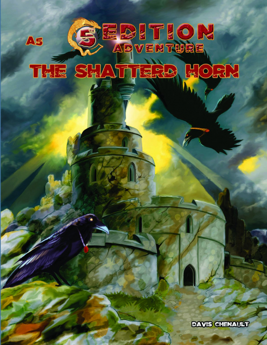 5th Edition Adventure - A5 The Shattered Horn 0