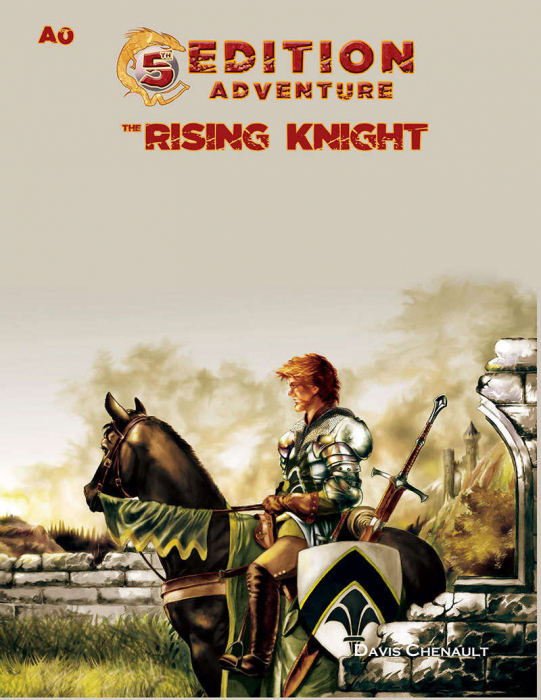 5th Edition Adventures - A0 The Rising Knight - EN 0