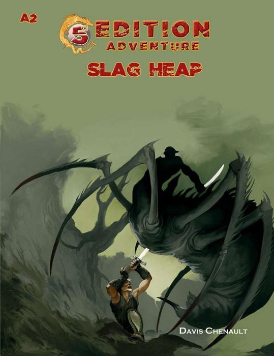 5th Edition Adventures - A2 The Slag Heap5th Edition Adventures - A3 Wicked Cauldron - EN 0