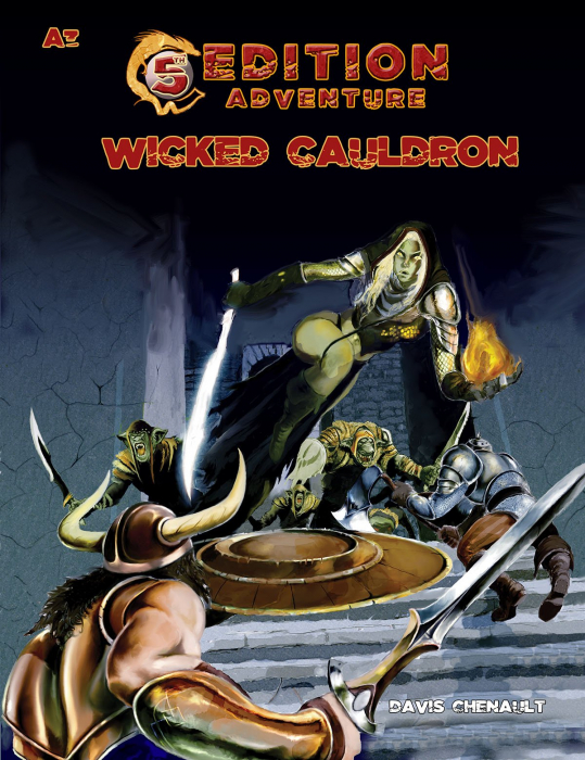 A3 Wicked Cauldron (5e Adventure) - EN 0