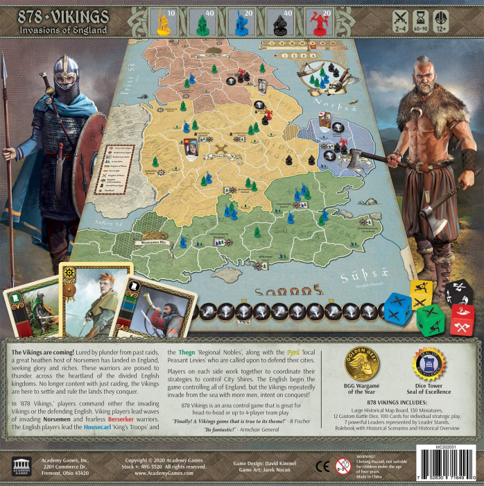 878: Vikings - Invasions of England 2nd Edition - EN [1]