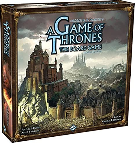 A Game of Thrones Boardgame 2nd Edition - EN 0