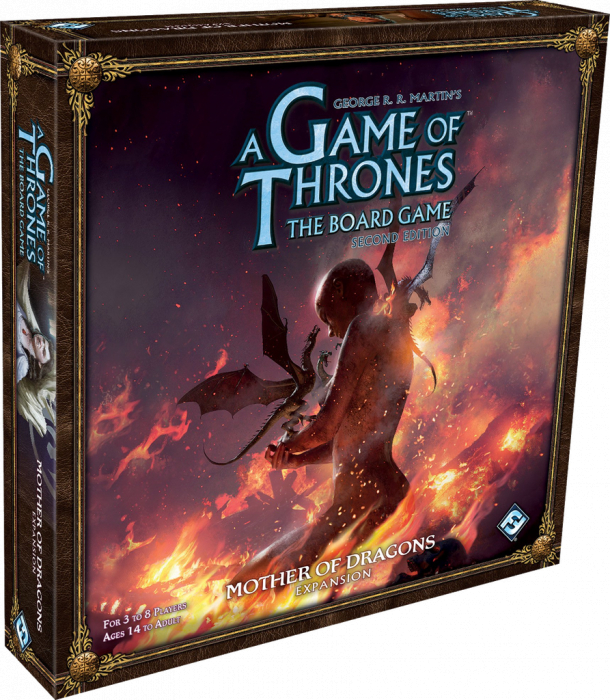 A Game Of Thrones The Board Game: Mother of Dragons (Extensie) 0