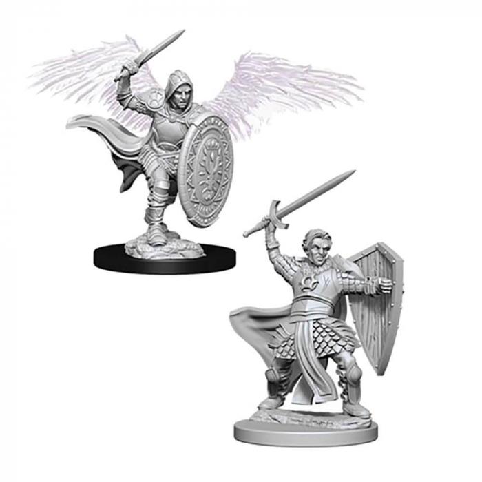Aasimar Male Paladin - Nolzur's Marvelous Unpainted Miniatures 0