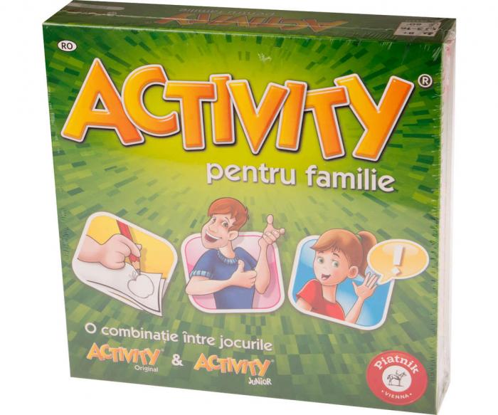 Activity pentru familie - RO 0