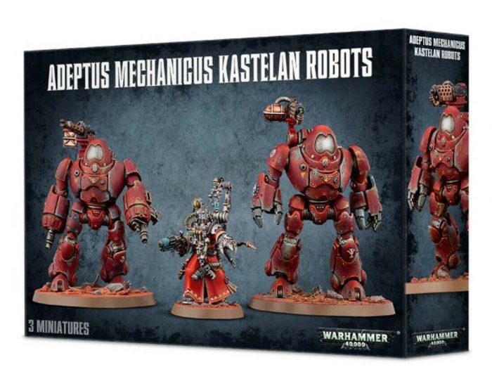 Adeptus Mechanicus Kastelan Robots - GW [0]