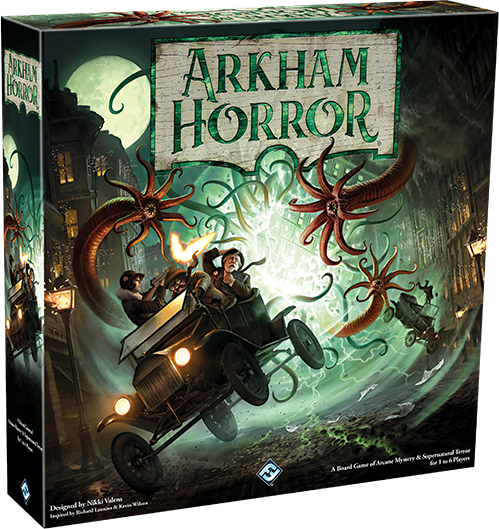 Arkham Horror 3rd Edition 0