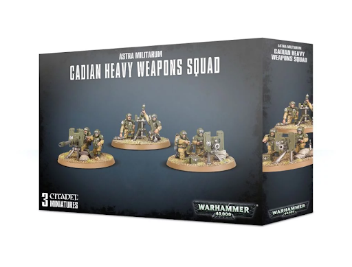 Astra Militarum Cadian Heavy Weapon Squad 0