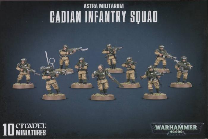 Astra Militarium Cadian Infantry Squad - GW [0]