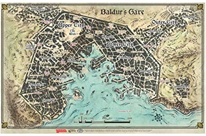 Baldur's Gate: Descent into Avernus Map 0