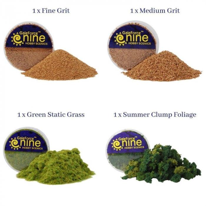 Basing Kit: Summer Pasture - Gale Force Nine 1