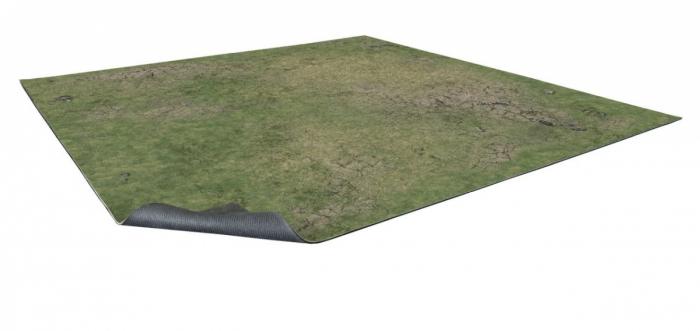 Grassy Fields Gaming Mat 2x2 v.2 - Battle Systems 0