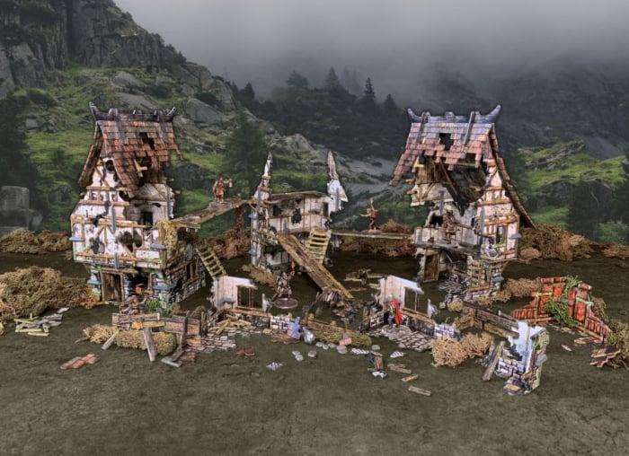 Battle Systems - Village Ruins 0