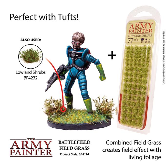 Battlefield Field Grass 4