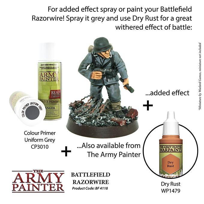 Battlefield Razorwire - The Army Painter 4
