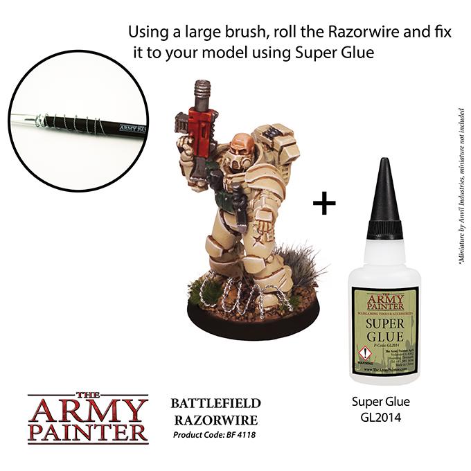 Battlefield Razorwire - The Army Painter 3