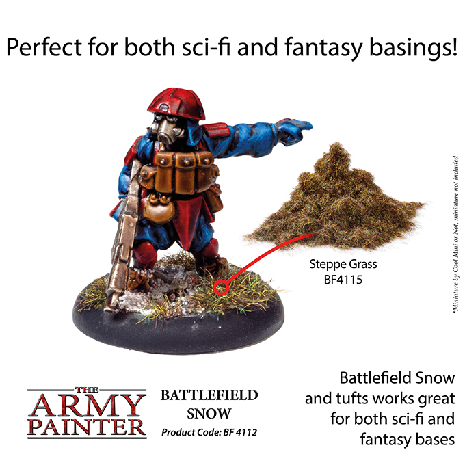 Battlefield Snow - The Army Painter 5