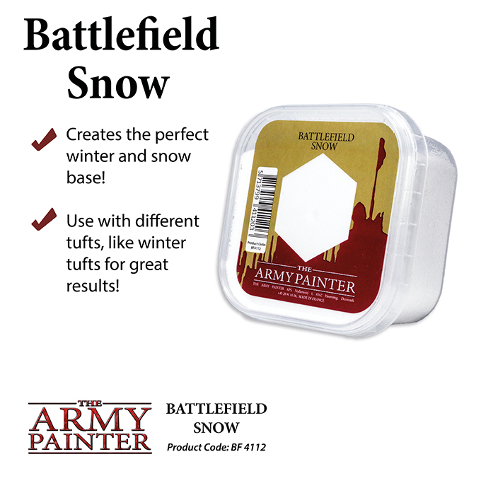 Battlefield Snow - The Army Painter 1