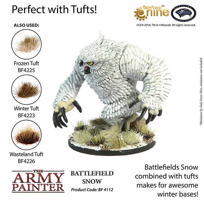 Battlefield Snow - The Army Painter 4