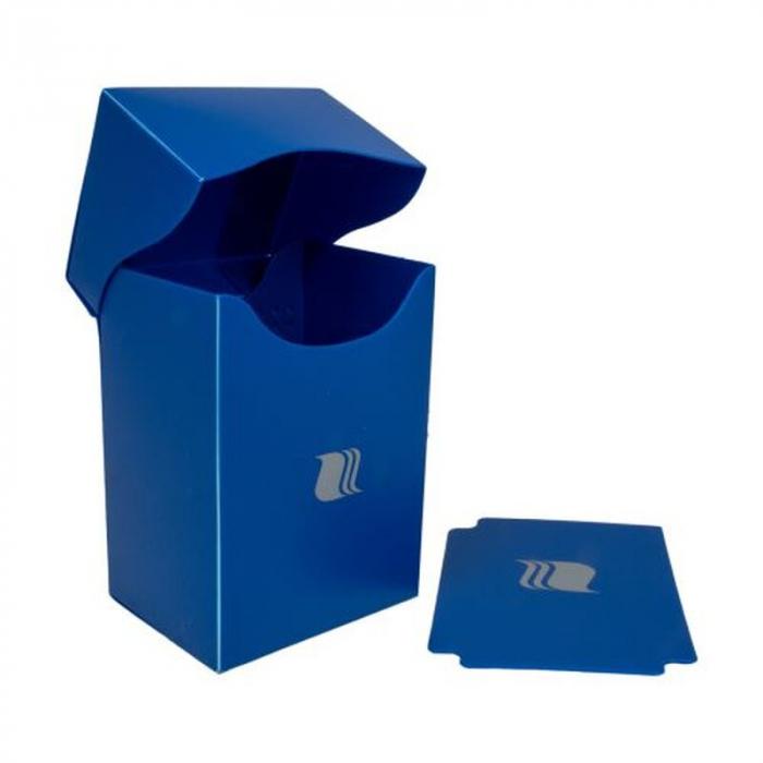 Deck Holder Vertical - for 80+ Cards - Blue - Blackfire  0
