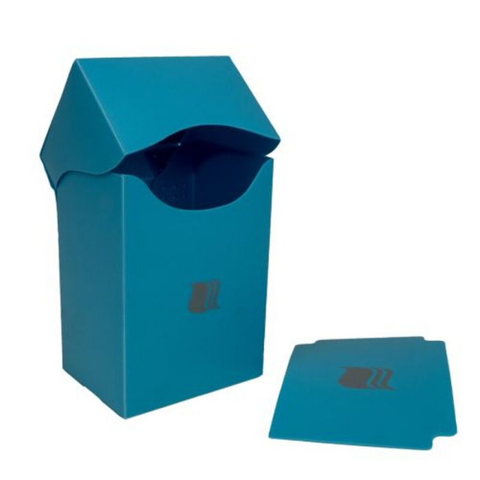 Deck Holder Vertical - for 80+ Cards - Light Blue - Blackfire  0