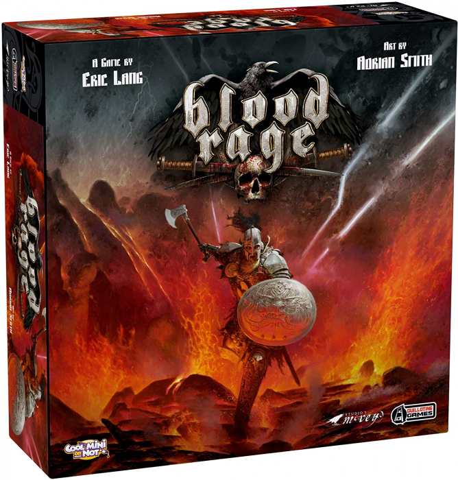 Blood Rage - EN 0