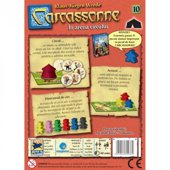Carcassonne Extensia 10 - In arena circului (Extensie) - RO [1]