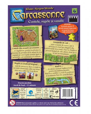 Carcassonne Extensia 6 - Contele, regele și vasalii (Extensie) - RO [1]