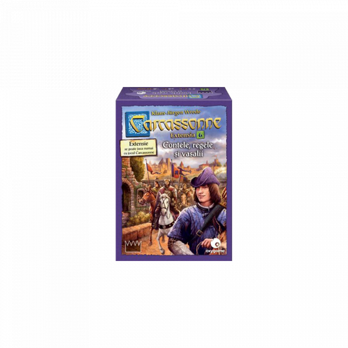 Carcassonne & Extensia 6 - Promo Pack 2