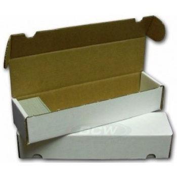 Cardbox / Fold-out Box for Storage of 1.000 Cards 0