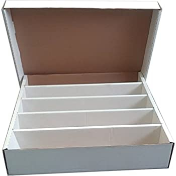 Cardbox / Fold-out Box With Lid For Storage of 4000 Cards 0